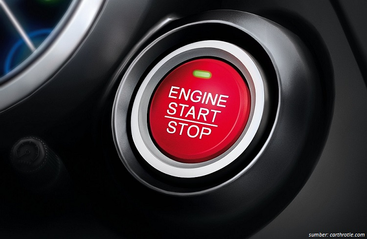 Tombol Start Engine