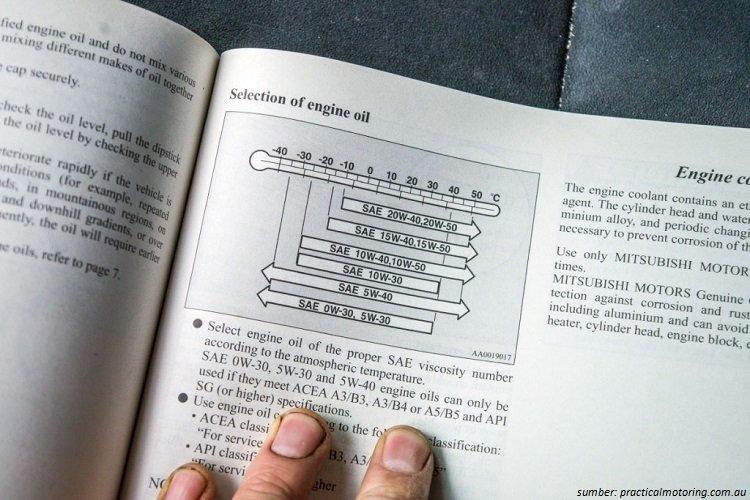 Ganti Oli Sesuai Buku Manual