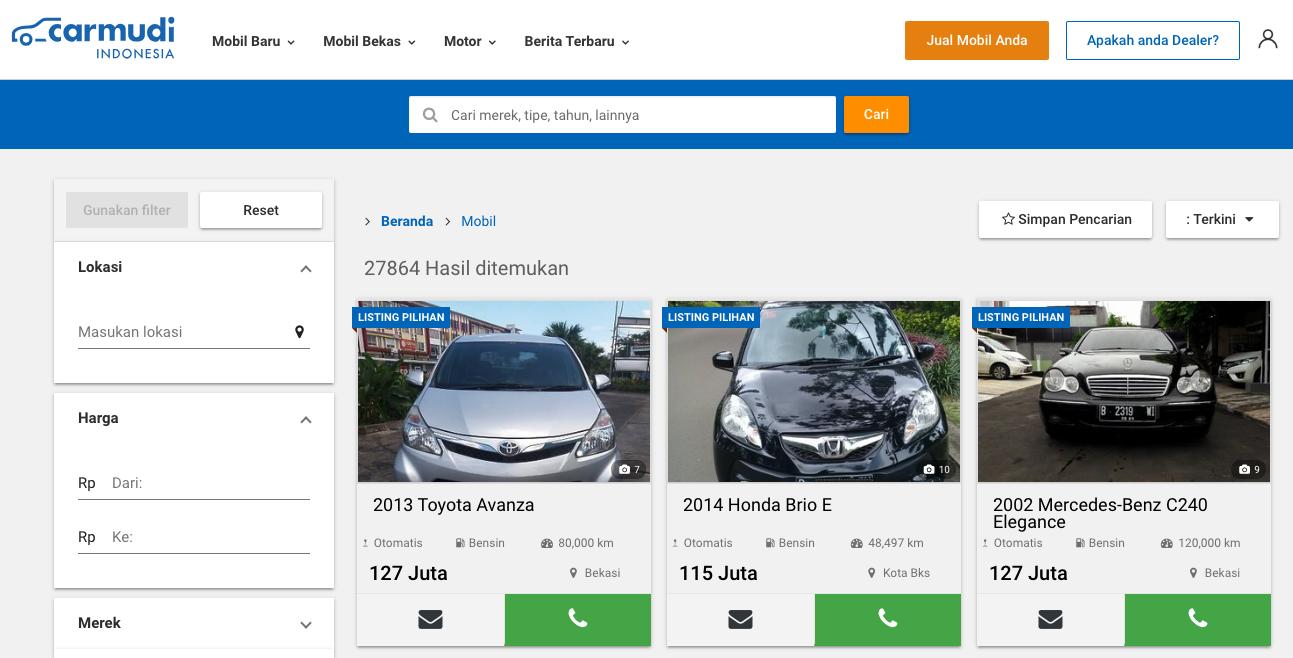 situs jual beli mobil carmudi