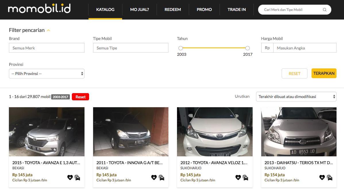 situs jual beli mobil momobil