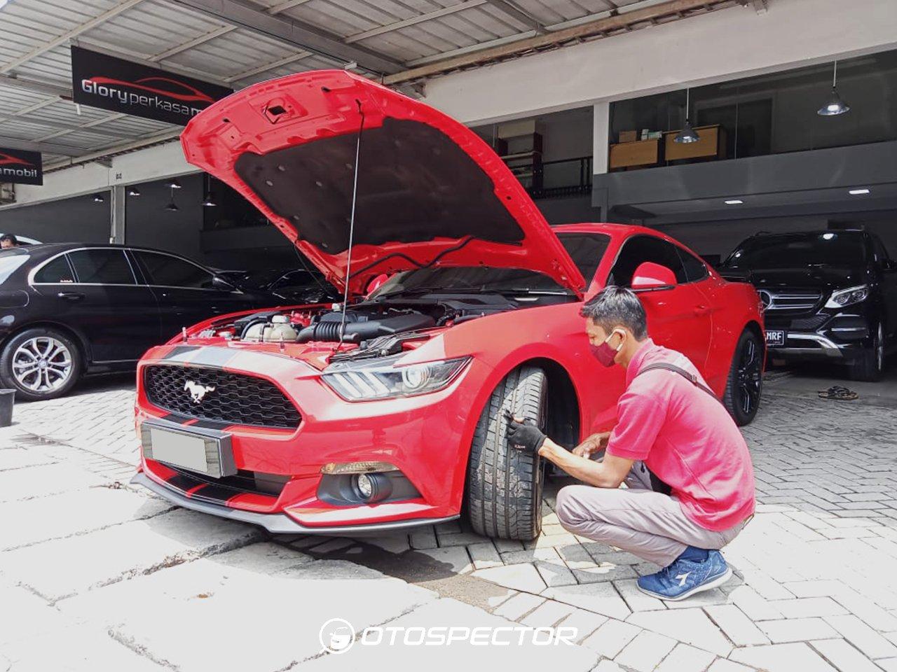 Inspeksi Ford Mustang 2016
